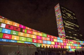 SDGs projekcija - UN Photo Cia Pak