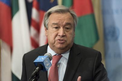 Antonio Guterres - UN Photo Mark Garten