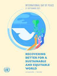 Sporočilo generalnega sekretarja ZN na mednarodni dan miru
